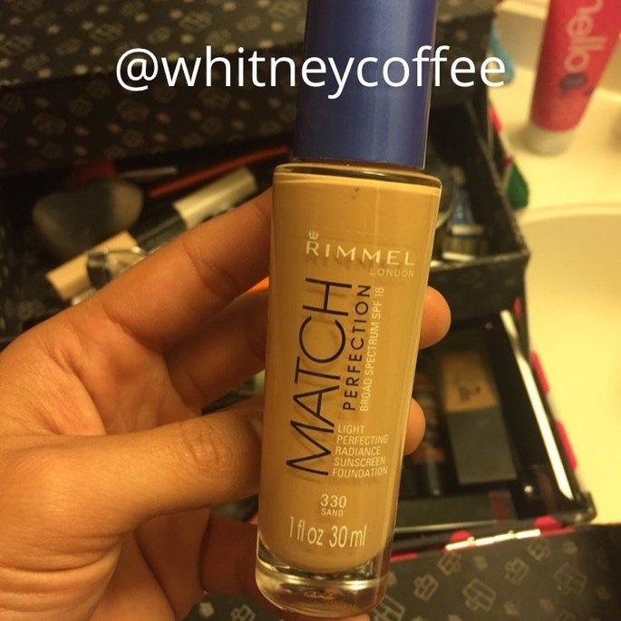 Rimmel London Match Perfection Foundation  uploaded by Whitney C.