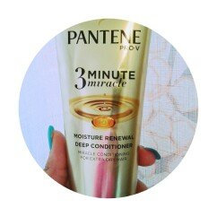 Photo of Pantene Moisture Renewal 3 Minute Miracle Deep Conditioner, 6 Oz uploaded by Ms. K.