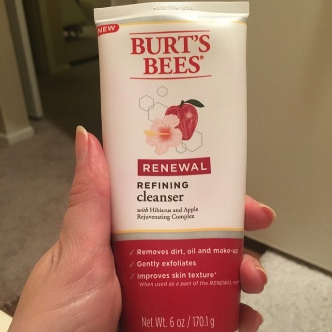Burt's Bees Renewal Cleanser, 6 oz uploaded by Laura K.
