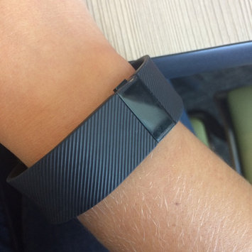 Photo of Fitbit - Charge Wireless Activity Tracker + Sleep Wristband (small) - Black uploaded by Amy G.