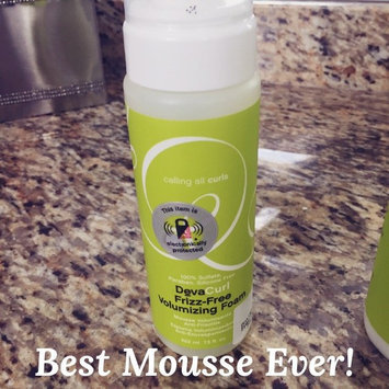Photo of DevaCurl Frizz-Free Volumizing Foam, Lightweight Body Booster uploaded by Traci L.