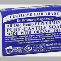 Dr. Bronner's All-One Hemp Peppermint Pure-Castile Bar Soap uploaded by Kylie s.