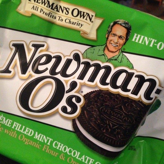 Newman's Own Organics Newman-O's Hint-O-Mint Creme Filled Mint Chocolate Cookies uploaded by Amanda F.