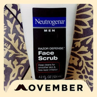 Neutrogena Men Razor Defense Face Scrub uploaded by Cynthia N.