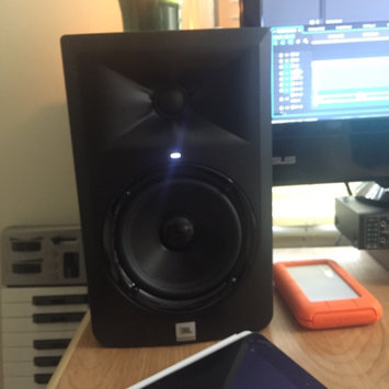 Photo of JBL LSR305 Studio Monitor 5-Inch Active Speaker uploaded by Stephanie L.
