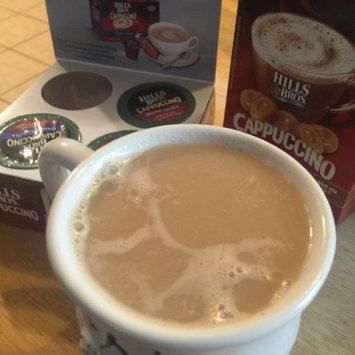 Photo of Hills Bros. Cappuccino Single Serve Cups, French Vanilla uploaded by Lynda B.