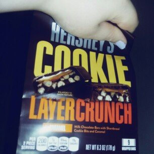 Photo of Hershey's Caramel Cookie Layer Crunch Chocolate Bars 6.3 oz. Bag uploaded by Rikka I.