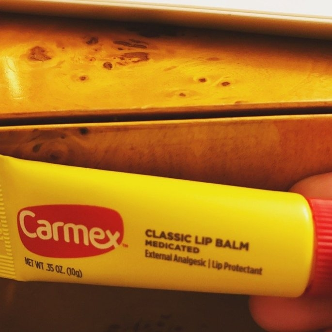 Carmex Cherry Lip Balm uploaded by Ashley C.