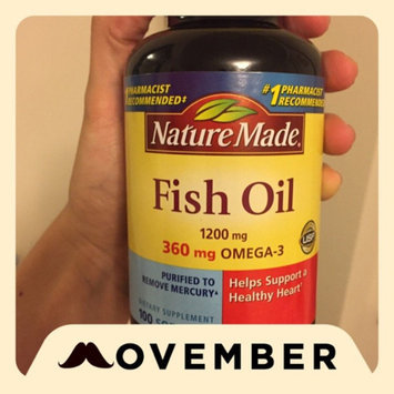 Photo of Nature Made Fish Oil Dietary Supplement - 180 Softgels uploaded by Chloe S.