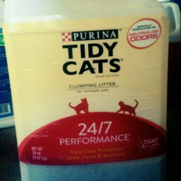 Photo of Tidy Cats Scoop 24/7 Performance Cat Litter uploaded by Kri W.