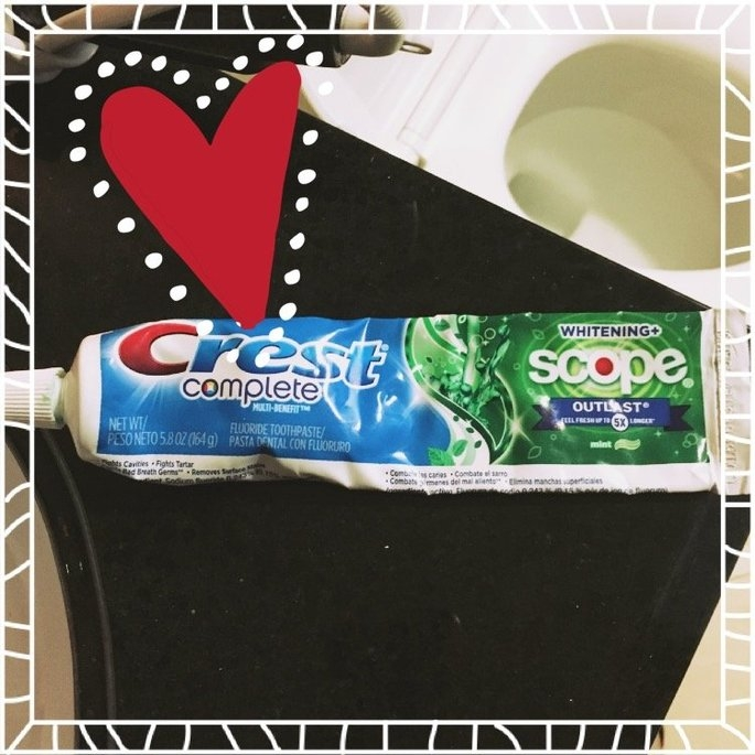 Crest Toothpaste uploaded by Heather L.