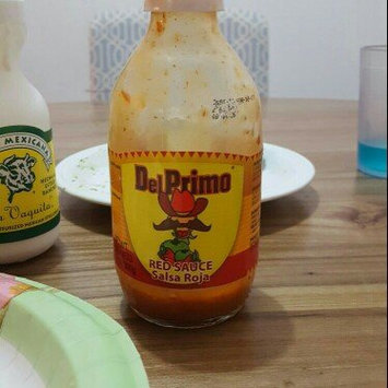 Photo of Del Primo Salsa Sauce 10.5oz Bottle (Pack of 3) Choose Flavor Below (Salsa Roja - Red Sauce) uploaded by Brad G.