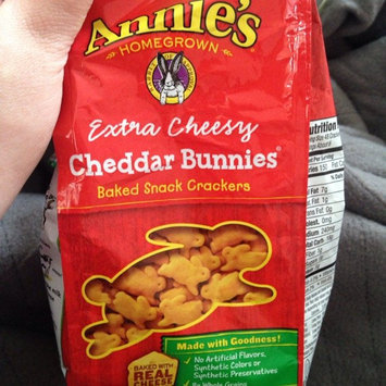 Annie's Homegrown® Organic Cheddar Bunnies® Baked Snack Crackers uploaded by Leah P.