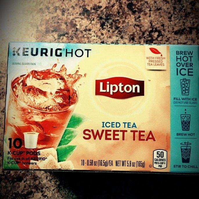 Lipton Refresh Sweet Tea Iced Tea K-Cups - 10 CT uploaded by Nancy W.