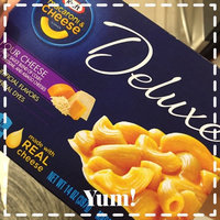 Kraft Deluxe Macaroni & Cheese Dinner Four Cheese uploaded by Stacy S.