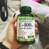 Nature's Bounty Vitamin E 400 IU 120 Rapid Release Softgels uploaded by McKayla P.