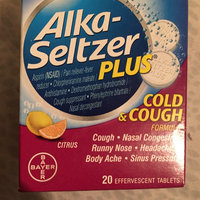 Alka-Seltzer Plus Cold & Cough Medicine uploaded by Angelique w.