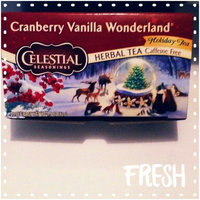 Celestial Seasonings® Cranberry Vanilla Wonderland Herbal Tea Caffeine Free uploaded by Alison G.