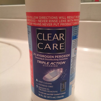Clear Care Cleaning & Disinfecting Solution uploaded by Victoria H.