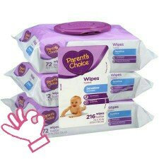 Photo of Parent's Choice Sensitive Baby Wipes uploaded by Amy S.