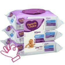 Parent's Choice Sensitive Baby Wipes uploaded by Amy S.