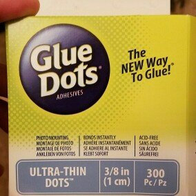 Photo of Glue Dots .375 Ultra Thin Dot Roll-300 Clear Dots uploaded by Jon T.