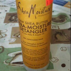Photo of SheaMoisture Raw Shea Butter Extra-Moisture Detangler uploaded by Kia Sohappy H.