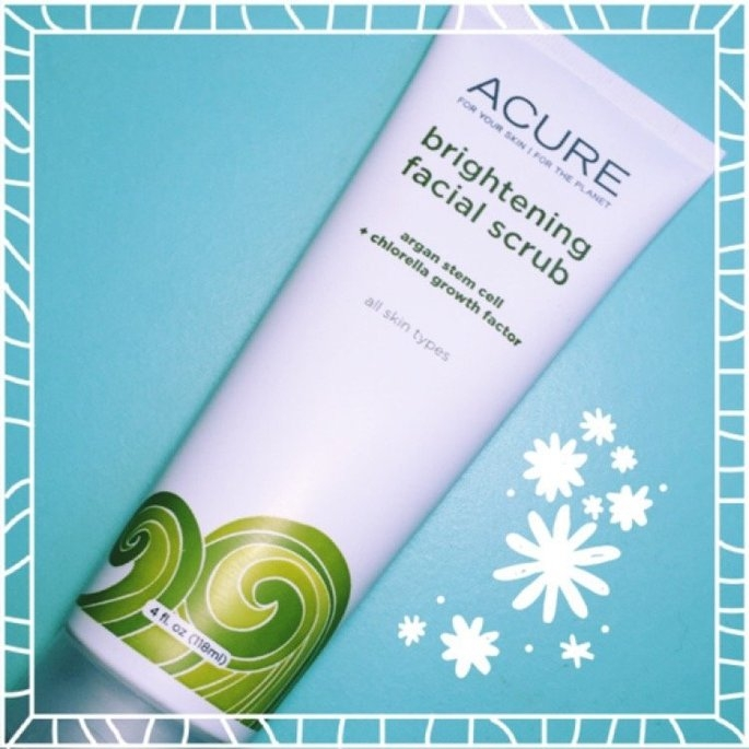Acure Brightening Facial Scrub uploaded by Natalie L.