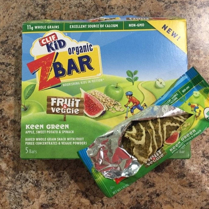 Clif Kid® Organic Keen Green Fruit & Veggie Z Bar 5-1.16 oz. Bars uploaded by Viktoriya V.