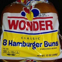 Wonder Hamburger Buns Classic White - 8 CT uploaded by Benji P.