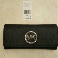 Michael Kors Wallet: Fulton Logo Carryall Wallet in Black uploaded by Carla L.