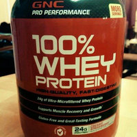 GNC Pro Performance 100% Whey Protein 24g, Creamy Strawberry, 37 oz uploaded by Michelle W.