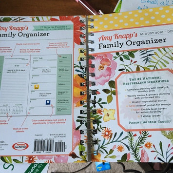 Photo of Amy Knapp Family Organizer 17-Month Calendar: August 2016-December 2017 uploaded by karen r.