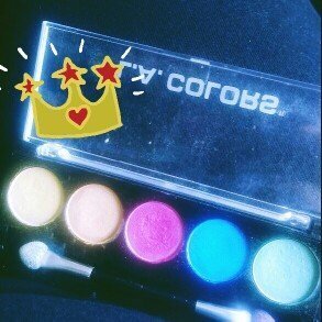 L.A. Colors 5 Color Metallic Eyeshadow, Tease, .26 oz uploaded by Monica G.