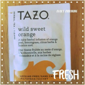 Photo of Tazo Wild Sweet Orange Herbal Tea uploaded by Lexi M.