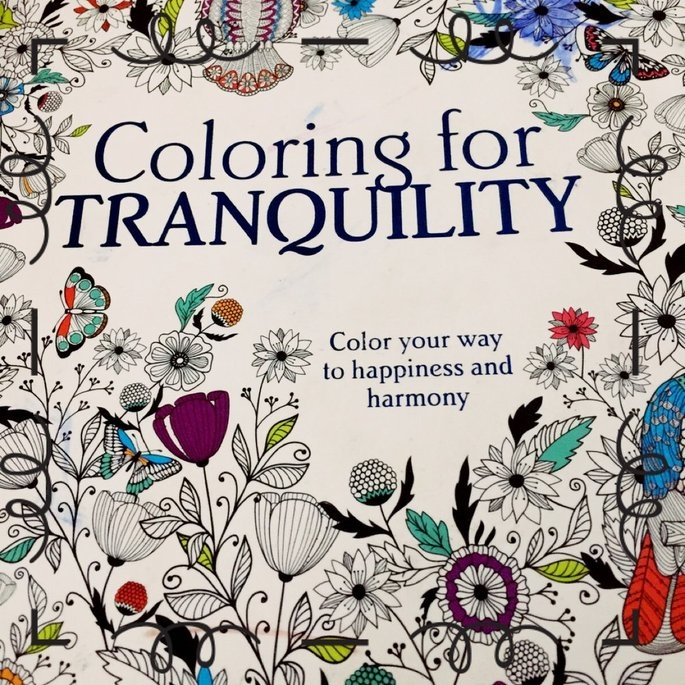 Parragon Coloring For Tranquility Adult Coloring Book uploaded by Allison J.