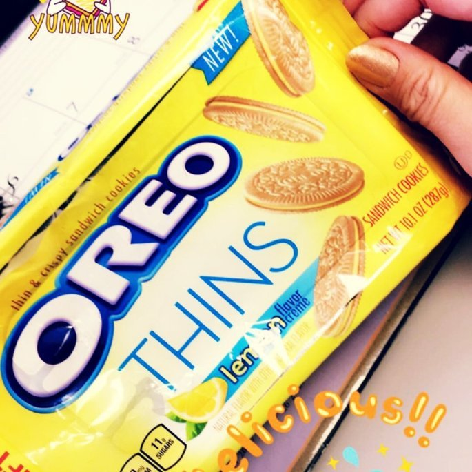 Nabisco Oreo Thins Lemon Creme Sandwich Cookies 10.1 oz. Pack uploaded by Christina G.