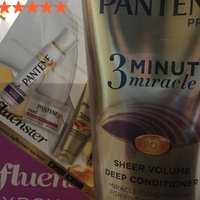 Pantene Pro-V 3 Minute Miracle Sheer Volume Deep Conditioner uploaded by Talissa G.