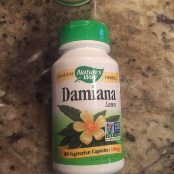 Solaray Damiana Leaves - 370 mg - 100 Capsules uploaded by vanessa c.