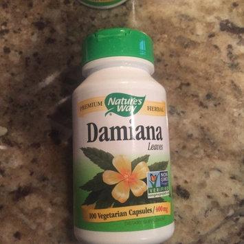 Solaray Damiana Leaves - 370 mg - 100 Capsules uploaded by vanessa c.