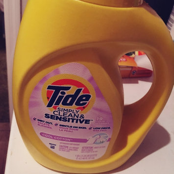 Photo of Tide Simply Clean and Sensitive Laundry Detergent, Cool Cotton Scent, 40 fl oz, 19 Loads uploaded by Trisha L.