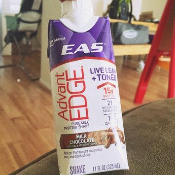 Photo of EAS Advantedge Chocolate Fudge Carb Control Shake 11 Fl Oz Carton uploaded by Kevin G.