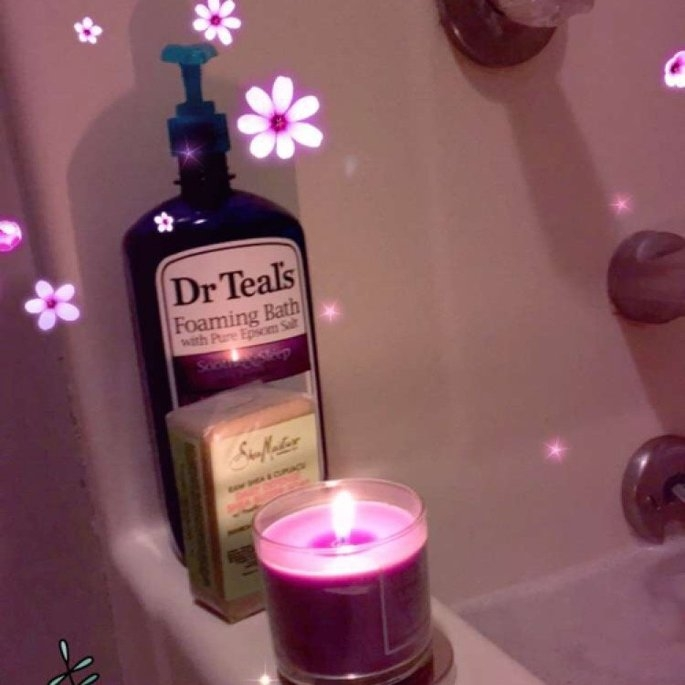 Dr. Teal's Foaming Bath, Soothe & Sleep with Lavender 34 fl oz uploaded by Maia S.