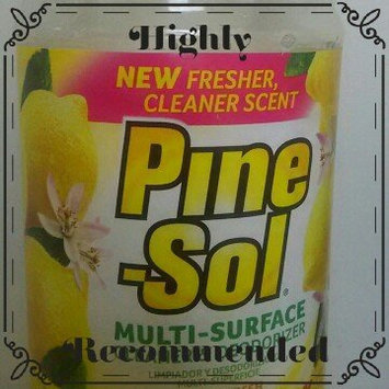 Photo of Pine-Sol Lemon Fresh Multi-Surface Cleaner uploaded by Sheila N.