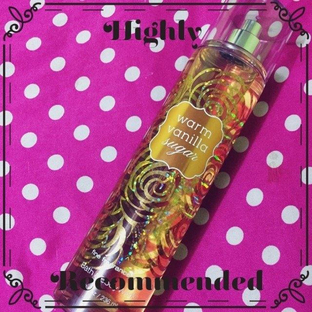 Bath & Body Works Warm Vanilla Sugar Fine Fragrance Mist uploaded by Astrid D.