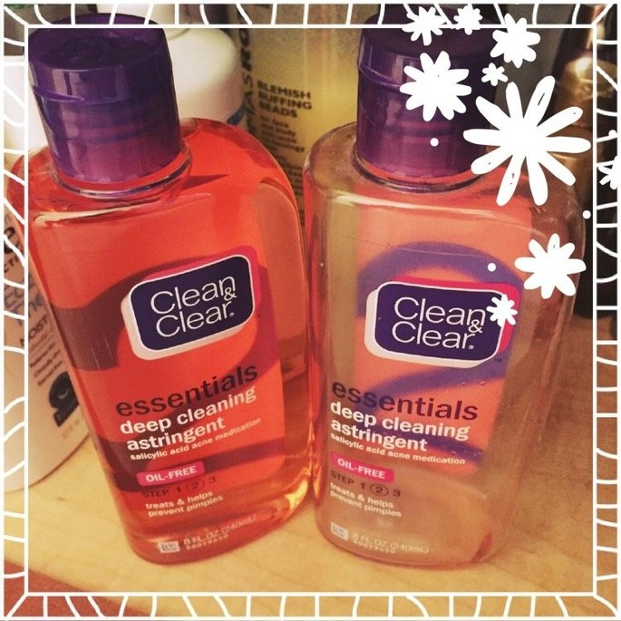 Clean & Clear Essentials Deep Cleaning Astringent uploaded by Teresa G.