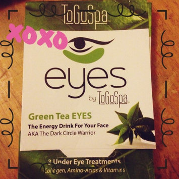 Photo of ToGoSpa Green Tea - Rejuvenating Eye Pads 3 piece uploaded by Maria A.