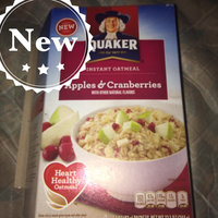 Quaker® Instant Oatmeal Cups Apples & Cranberries uploaded by Ulyssa F.