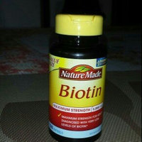 Nature Made Biotin 5000 mcg Softgels - 120 Count uploaded by Luz A.
