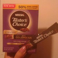 NESCAFE TASTER'S CHOICE 100% Colombian Instant Coffee 16-0.1 oz. Single Serve Packets uploaded by Vannesa C.